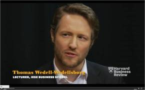HBR video interview with Thomas Wedell-Wedellsborg